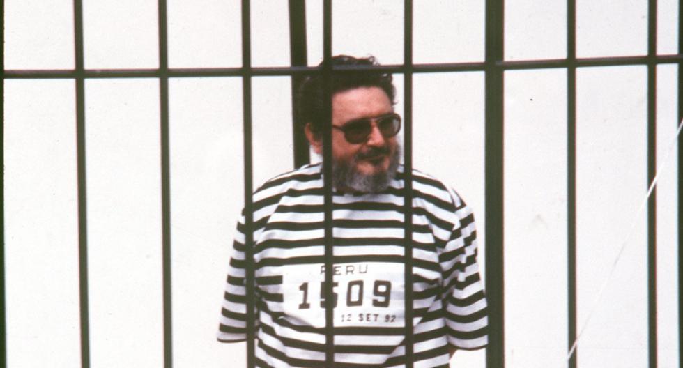 Día de la presentación de Abimael Guzmán, tras su captura en 1992. (Foto: GEC Archivo Histórico)