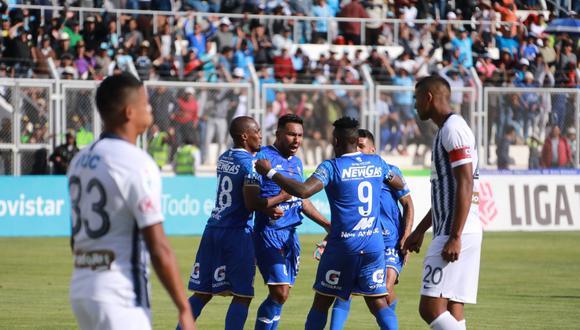 Binacional ganó por 4-1 a Alianza Lima en Juliaca por la primera final de la Liga 1.