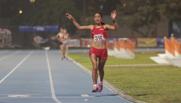 Inés Melchor es la nueva campeona sudamericana de 10 mil metros