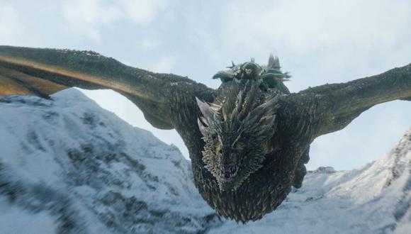 ¿Qué pasó con Rhaegal, el dragón de Jon Snow? (Foto: Game of Thrones / HBO)