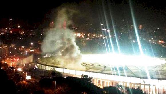 Estambul: Preciso momento de la explosión en estadio [VIDEOS]