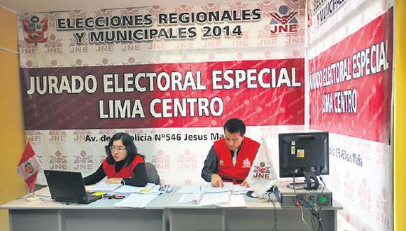 Elecciones: Hay 26.550 observaciones en pedidos de inscripción