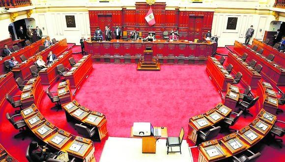 Congreso aprobó la reconformación de la comisión especial encargada del proceso de selección de nuevos magistrados del TC. (Foto: GEC)