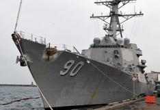 Barcos de guerra de Rusia y EE.UU. cerca de un incidente en el mar de Japón