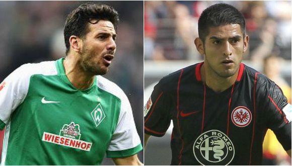 Pizarro vs. Zambrano: solo uno permanecerá en la Bundesliga