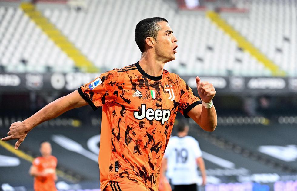 Juventus venció al Spezia por la Serie A con dos goles de Cristiano Ronaldo