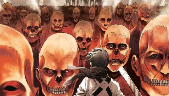 """El último capítulo del manga de """"Shingeki no Kyojin"""" fue lanzado el 9 de abril de 2021 (Foto: Bessatsu Shonen)"""
