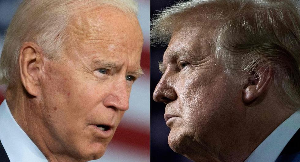 El presidente de Estados Unidos, Donald Trump, y su rival demócrata y exvicepresidente, Joe Biden, se disputarán la Casa Blanca el 3 de noviembre. Este martes se enfrentan en el primero de tres debates. (Foto: AFP / Jim Watson / Brendan Smialowski)