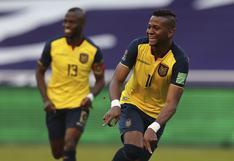 Ecuador vs. Uruguay: Michael Estrada anotó el segundo de los ecuatorianos en los descuentos del primer tiempo
