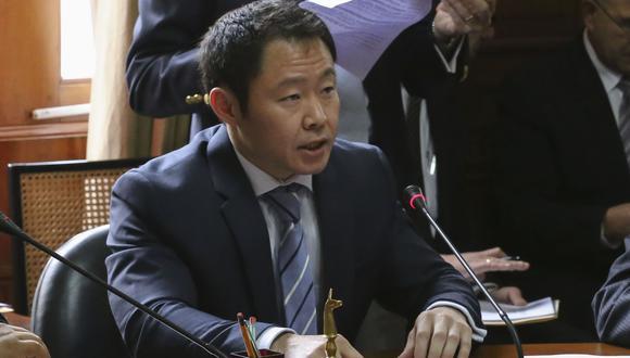 Kenji Fujimori permanece suspendido desde que se le acusó de haber negociado votos contra la vacancia de PPK. (Foto: Congreso)
