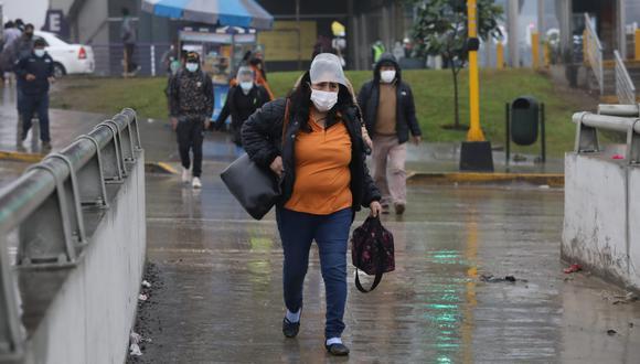 En Lima Oeste, la temperatura máxima llegaría a 18°C, mientras que la mínima sería de 16°C. Foto: Britanie Arroyo/@photo.gec