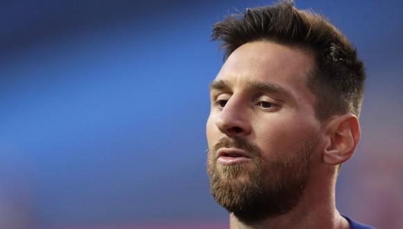 Un terremoto en el mundo del deporte ha originado la noticia de Messi, quien quiere dejar el Barcelona (Foto: Manu Fernandez / POOL / AFP)