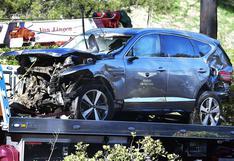 Tiger Woods: así quedó el automóvil del golfista luego de su grave accidente   FOTOS