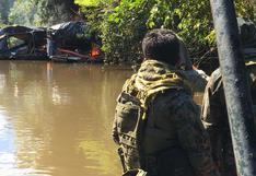 Loreto: destruyen dragas de minería ilegal que eran utilizadas en plena cuarentena
