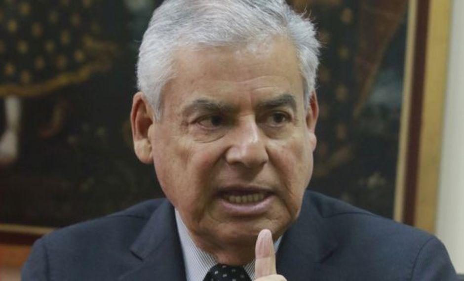 Villanueva reconoce que no hubo revisión exhaustiva antes de que el gobierno saludara la aprobación de las reformas. (Foto: Miguel Bellido/El Comercio)