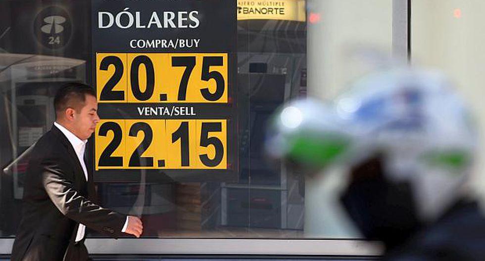 El tipo de cambio subía 0.7% en el mercado de México este martes. (Foto: AFP)