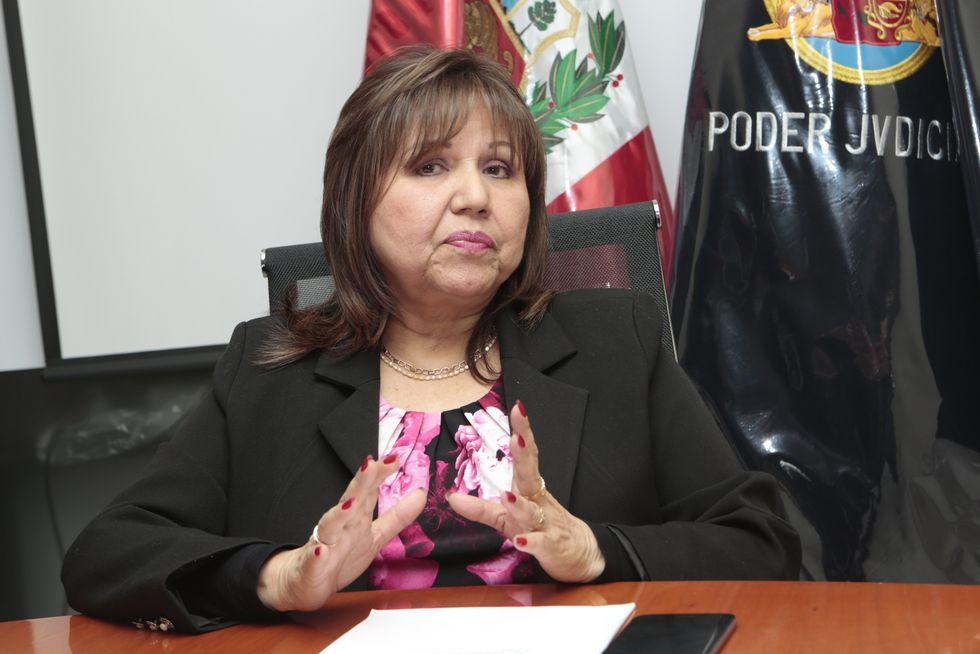 Jueza Suprema Provisional Susana Castañeda Otsu, fue convocada como dirimente para resolver el recurso de casación que interpuso Keiko Fujimori.