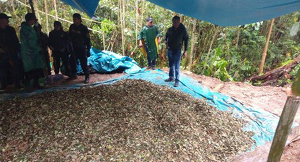 Unos 40 policías desplegaron la operación entre la tarde del viernes y la mañana del sábado, en el centro poblado San Fermín. (Foto: PNP)