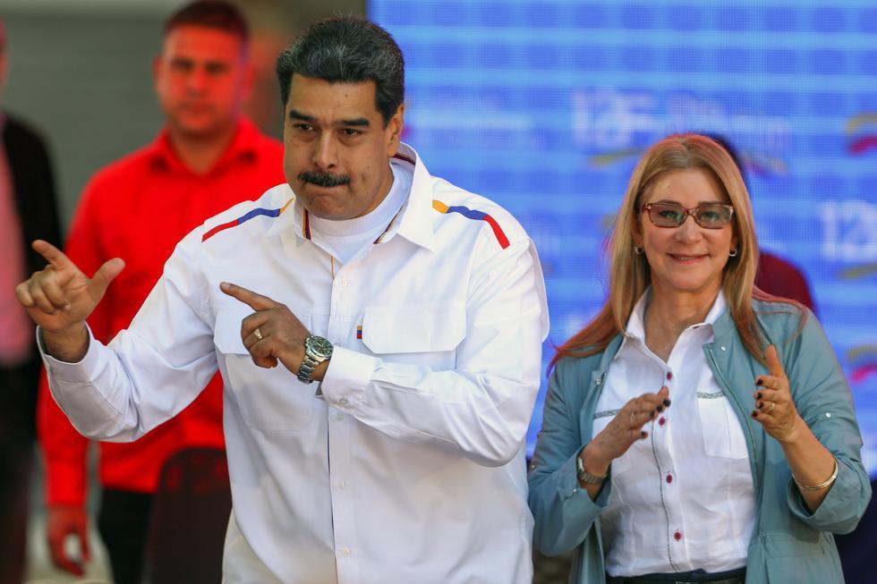 Cilia Flores   Investigan si mansión allanada en Punta Cana era refugio de esposa de Nicolás Maduro. Foto: AFP