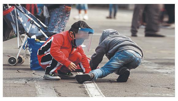 De acuerdo con lo dispuesto por el Gobierno, los niños pueden salir desde el 18 de mayo a dar un paseo diario de máximo treinta minutos (Foto: GEC)