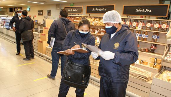 Cusco: supervisaron centros comerciales para verificar que se cumplan medidas de seguridad por el COVID-19 (Foto difusión).