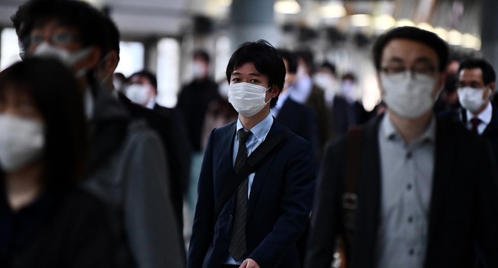 El ministro de Asuntos Exteriores, Toshimitsu Motegi, dijo este viernes en una rueda de prensa que los países a los que se pide no viajar se encuentran en el nivel 3 de riesgos en la pandemia. (Foto referencial/AFP/ Charly Triballeau)