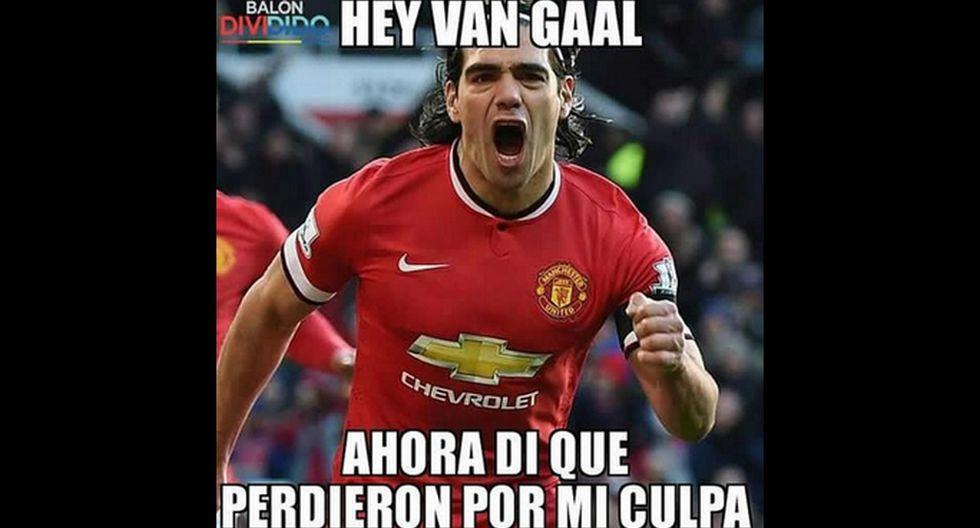 Manchester United: memes contra Van Gaal por sentar a Falcao - 5