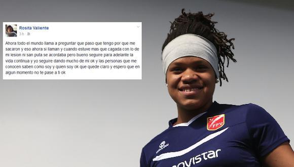"""Voleibolista Rosa Valiente se defiende: """"Nadie se acordó de mí"""""""