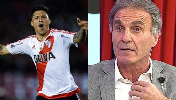 River Plate: Óscar Rugerri aconseja a Enzo Pérez cómo atajar esta noche en el 'Millonario'.
