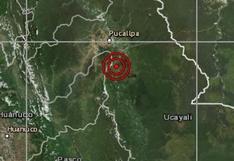 Ucayali: sismo de magnitud 4,5 se reportó en Pucallpa, señaló el IGP