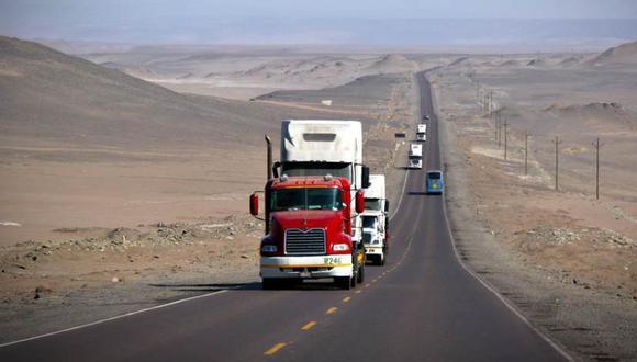 De momento, el tránsito vehicular en la Panamericana Sur se desarrolla en condiciones normales. (Foto referencial: GEC)