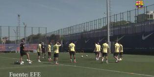 España: Barcelona retoma los entrenamientos tras un día de descanso
