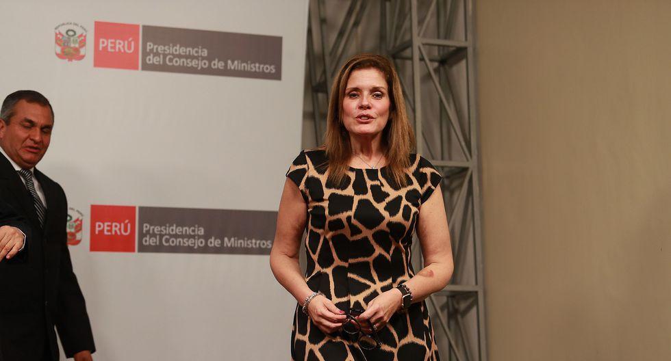 """Mercedes Araoz precisó que se le pueden agregar distintos planteamientos a las iniciativas del Gobierno """"mientras se mantenga la esencia de la norma"""". (Foto: Archivo El Comercio)"""