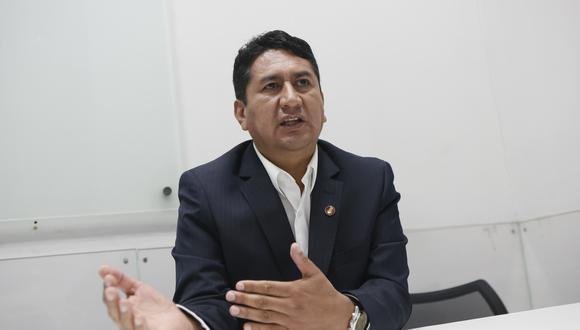El exgobernador regional de Junín agradeció el pronunciamiento de la bancada, cuyo vocero es su hermano Waldemar Cerrón. (Foto: archivo/GEC)
