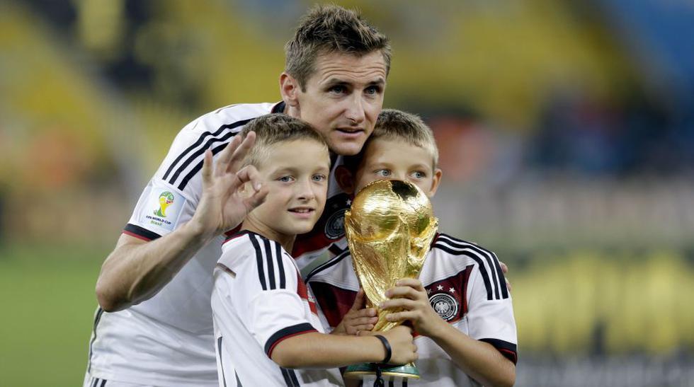 Repasa en imágenes la carrera mundialista del histórico Klose - 1