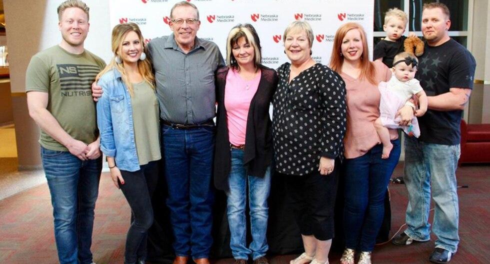 Payton tenía 16 años cuando perdió la vida pero sus órganos le dieron una nueva oportunidad a varias personas, entre ellas Gary. (Fotos: Nebraska Medicine en Facebook)