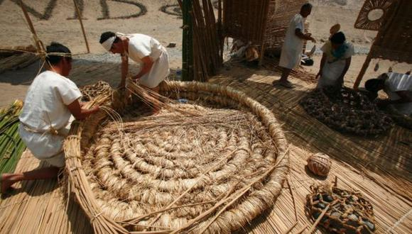Cestería en junco y totora es declarada patrimonio cultural