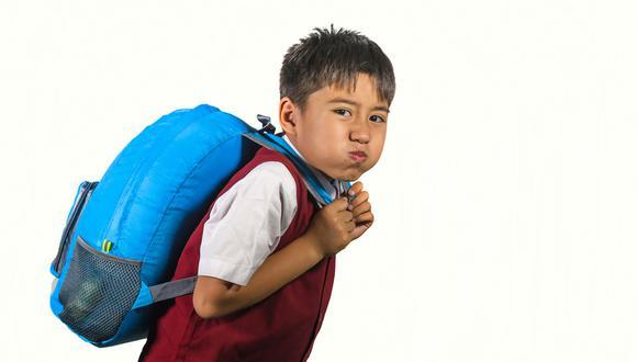 Mochila escolar. (Foto: iStock)