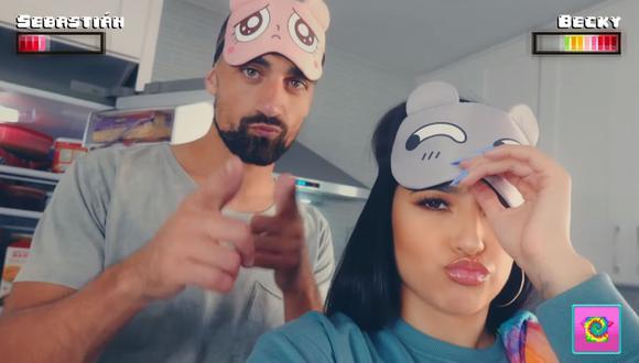 """Becky G estrenó """"My man"""" y su novio Sebastián Lletget es el protagonista del videoclip. (Foto: Captura de video)"""
