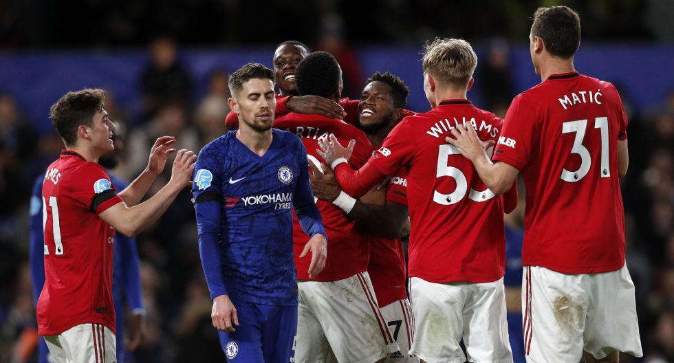 Manchester United vs. Chelsea, por la Premier League. (Foto: AFP)