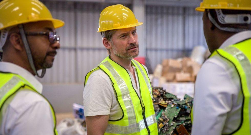 En el país africano, Nikolaj Coster-Waldaurealizó una visita a una planta de gestión de residuos electrónicos en Rwanda. (PNUD)