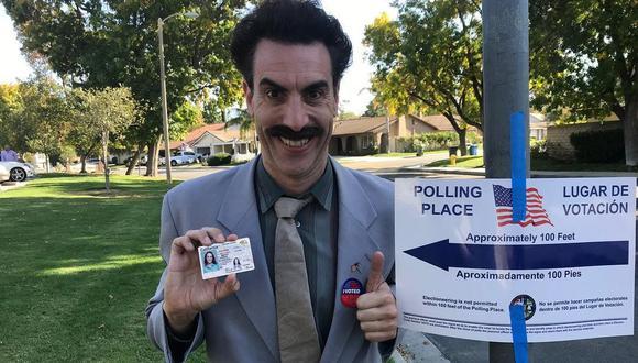 """Amazon Prime adquirió los derechos de la secuela de """"Borat"""". (Foto: @sachabaroncohen)"""