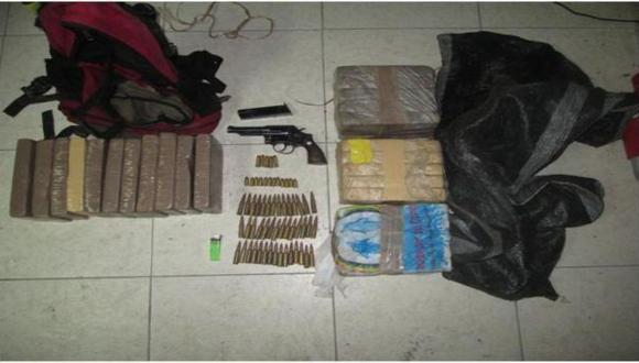 Incautaron armamento y municiones a presuntos narcotraficantes