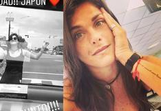 Instagram: Giovanna Valcárcel baila salsa en Japón y 'para el tránsito' en carretera