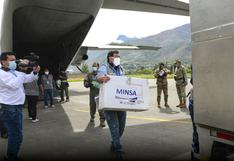 Huánuco recibió más de 2 mil vacunas contra el COVID-19