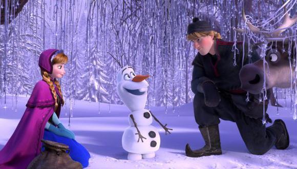 """""""Frozen"""" es el filme de animación más taquillero de la historia"""