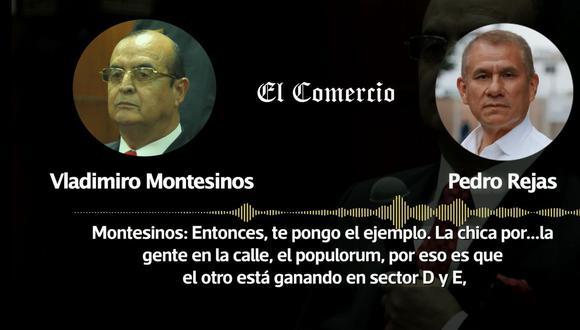 """Vladimiro Montesinos conversó con Pedro Rejas sobre la estrategia """"emocional"""" que debía llevar a cabo Fuerza Popular en la campaña de la segunda vuelta. (Captura: El Comercio)"""