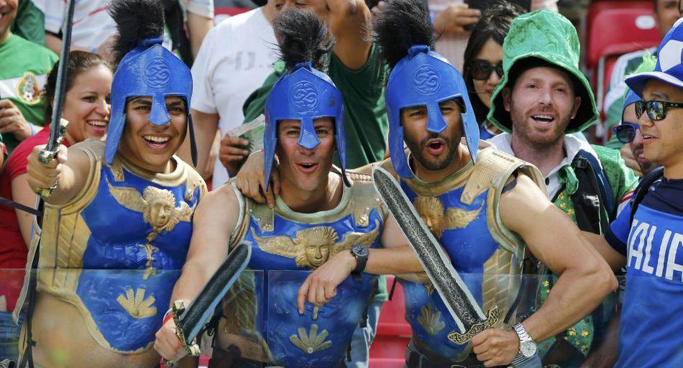 Italia vs. Costa Rica: así lo viven los hinchas en las tribunas - 2