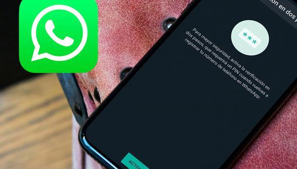 ¿Para qué sirve activar la función de verificación en dos pasos de WhatsApp? (Foto: MAG)