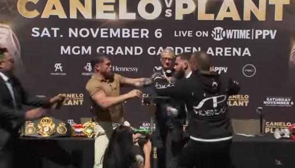 La pelea entre 'Canelo' Álvarez y Caleb Plant es muy esperada por los fanáticos del boxeo. (Foto: captura YouTube)